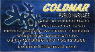Coldnar de Pablo Narváez - La Web de Paraná