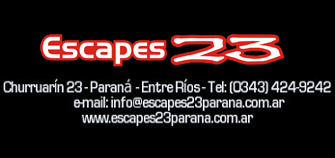 Escapes 23 - La Web de Paraná