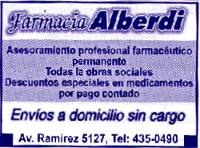 Farmacia Alberdi - La Web de Paraná