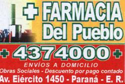 Farmacia del Pueblo - La Web de Paraná
