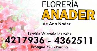 Florería Anader - La Web de Paraná
