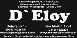 Fotocopias D Eloy - La Web de Paraná